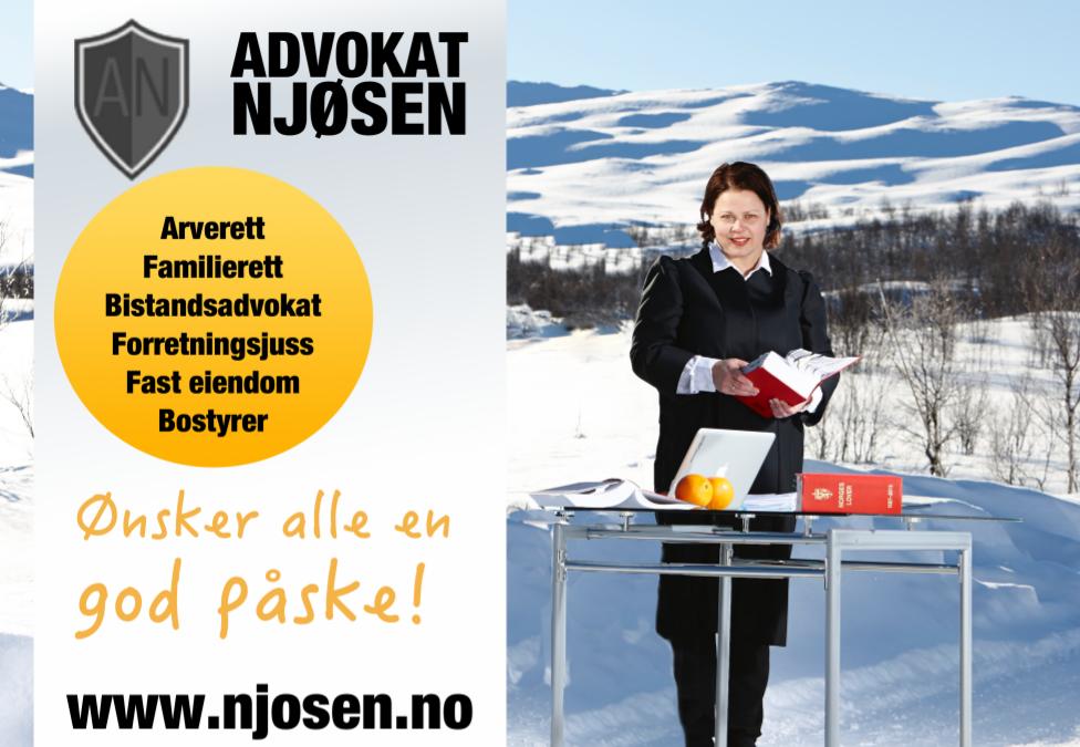 Elisabeth Njøsen – God påske!